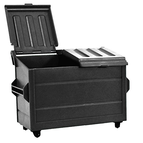 Black Dumpster for WWE Wrestling Action Figures by Figures Toy Company