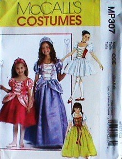 (McCALL'S MP307 ~ CHILDREN / GIRL'S STORYBOOK COSTUME Sewing Pattern (Size 3,4,5,6) )