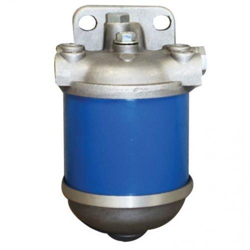 Diesel Fuel Filter Assembly - Metal Bowl Massey Ferguson 165 35 135 50 50 40 40 Ford 5600 5610 5000 2600 4600 2000 6600 3000 3600 4000 4110 Allis Chalmers International Landini Long Oliver FIAT White - Nos Diesel