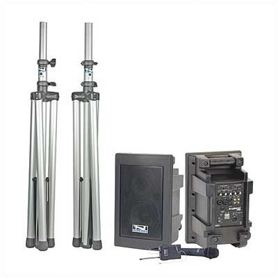Explorer Pro Dual Deluxe Package PA System First Microphone Type: Collar, Second Microphone Type: ()