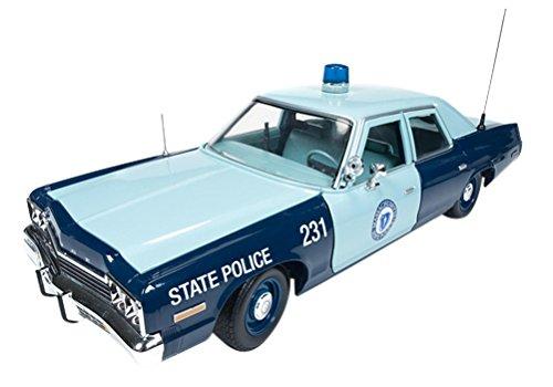 auto world 1/18 Dodge Monaco 1974 Massachusetts police patrol car by Kyosho ()