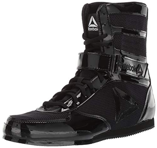 Reebok Men's Boot Boxing Shoe, Black, 10 M US (Best Shoes For Boxing Workout)
