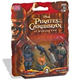 : Pirates of the Caribbean: Davy Jones & Clanker Figure 2-Pack