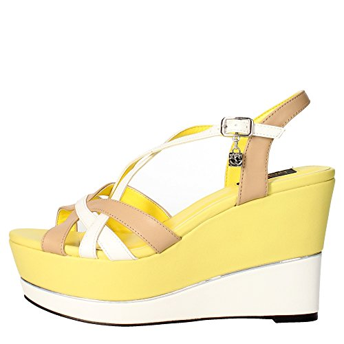 Braccialini B27 Sandale Femme Jaune