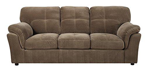 Emerald Home U3690-00-15 Gunter Sofa, Hemp