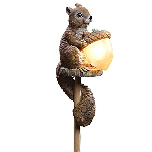 Solar Sammy Squirrel Outdoor Garden