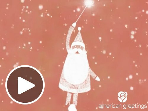 Christmas Is in the Air -  Animated eGift Card