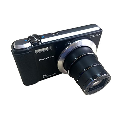 "KINGEAR KG0015 12.5 x Optical Zoom Digital Camera with 2.7""TFT Display and Digital Video Camera HD 720P by GordVE"