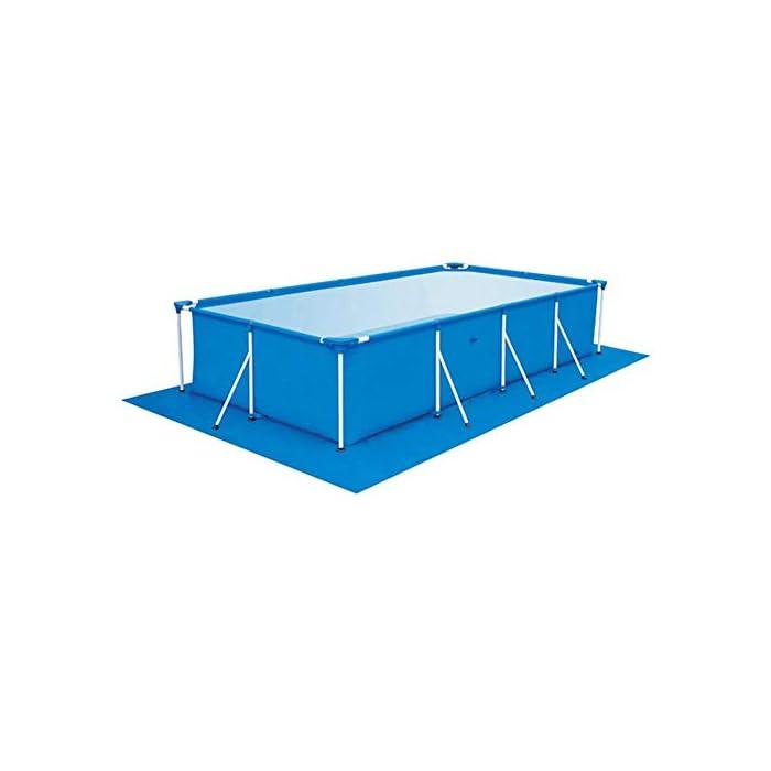 41I7PKCAGQL 【Tamaño adecuado】 330 * 230 cm / 129.92 * 90.55 pulgadas de tela rectangular rectificada / 0.69 kg. 【Fácil y conveniente】 Instalación simple, adecuada para varias piscinas. 【Fácil de transportar y guardar】 Se puede plegar para facilitar el movimiento a cualquier lugar.