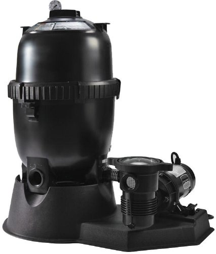 Pentair Sta-Rite SRPLD050OE1260 PLD-Series Aboveground Modular D.E. Filter System with 1 HP OptiFlo Pump