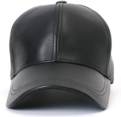 a4862051d FAS Unisex Solid Faux Leather, Snapback, Baseball, Hip Hop, Trucker ...