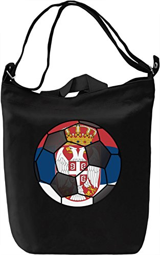 Serbia Football Borsa Giornaliera Canvas Canvas Day Bag| 100% Premium Cotton Canvas| DTG Printing|