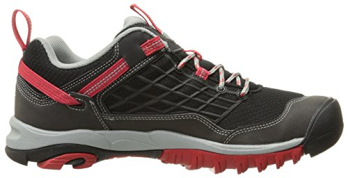 Acuto Uomo Saltzman Trekking & Hiking Low Shoes Nero (nero / Racing Rosso)