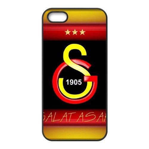 Galatasaray Fc Football Logo coque iPhone 5 5S cellulaire cas coque de téléphone cas téléphone cellulaire noir couvercle EOKXLLNCD23799