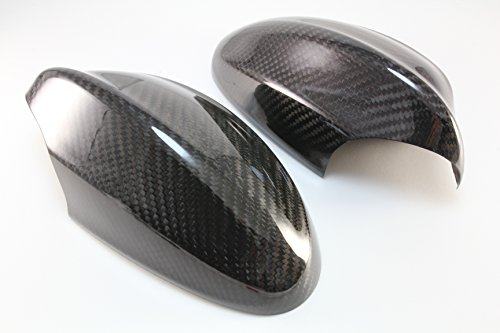 B2 05-08 BMW E90 E91 328i 330i 335i Real Dry Carbon Fiber Mirror Covers 3 Series (330i Carbon Fiber)