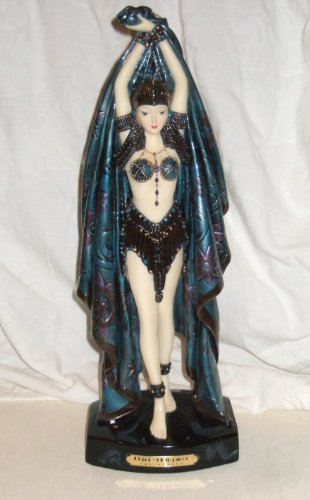 Stylish Art Deco Statuary from OBJET 'D ELEGANCE COLLECTION - Dance of 7 Veils ()