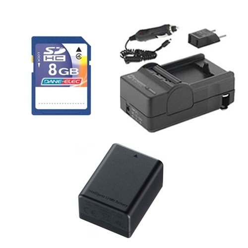 - Canon Legria HF R56 Camcorder Accessory Kit includes: SDBP718 Battery, SDM-1556 Charger, KSD48GB Memory Card