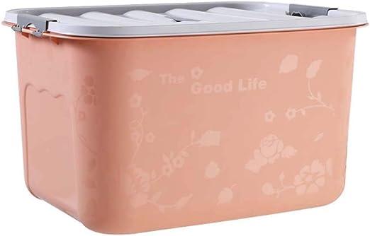 Caja de almacenamiento de plástico grande Simplicidad moderna Caja ...