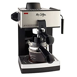 Mr. Coffee 4-Cup Steam Espresso System with Milk Frother (B000U6BSI2) | Amazon Products