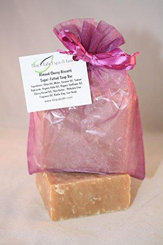 - Black Label Spa & Bath - Super Fats Soap - Almond Cherry Biscotti