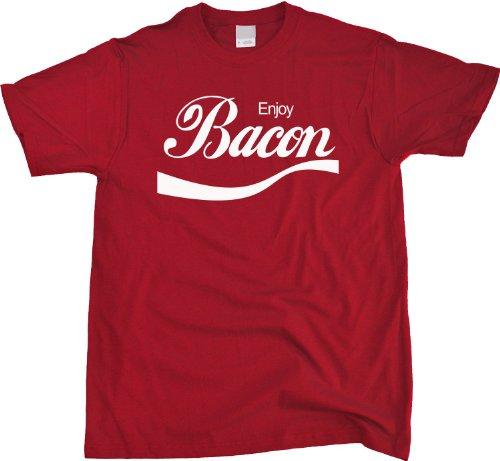 Enjoy Bacon Unisex T-shirt BBQ Grill, Pork Lover Tee