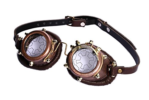 Steampunk industrial revolution cosplay steamboy tenon pilot goggles SP070 - Old Fashioned Pilot Goggles