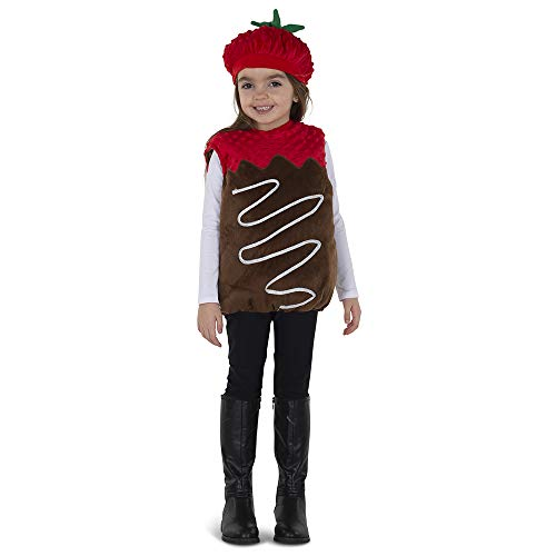 Dress Up America Chocolate Dipped Strawberry Costume for Kids - Product Comes Complete with: Bubble and Hat (6-12 Months) -