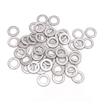 UTSAUTO Drain Plug Gaskets Oil Crush Washers Seals 50 Packs Replacement for the Part 94109-14000 fit for Civic Accord CR-V CRV Pilot Odyssey: Automotive
