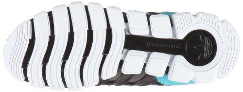 adidas Originals MEGA TORSION FLEX W - Zapatillas de mezcla mujer negro - Schwarz/BLACK 1 / BLACK 1 / CLEAR BLUE F11