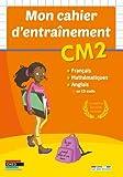Mon cahier d'entraînement CM2