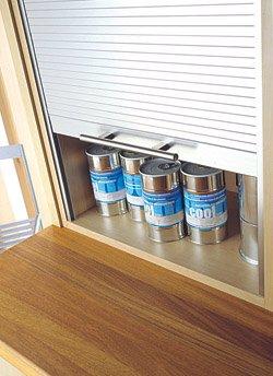 Kitchen Tambour Doors (1,000 Millimeters, 1,210 Millimeters)