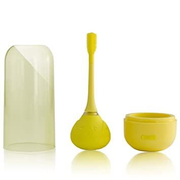 Amazon.com: Cepillo de dientes eléctrico para niños, cepillo ...