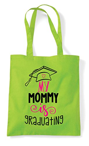 My Shopper Lime Mommy Bag Is Graduating Tote rrxFqX