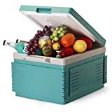 Portable Refrigerator 12 Liter Vehicle, Car, RV, Boat, Mini Fridge Freezer for Driving, Travel, Fishing, Outdoor and Home use -12V DC and 220 AC