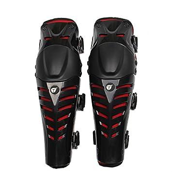 LKOUS Accolade Professionnelle du Genou de Motocross Moto de Haute Qualit/é Protector Gardes /Équipement de Protection