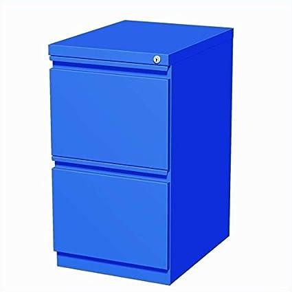 Superieur Hirsh Industries 20u0026quot; Deep File File Mobile Pedestal In Blue