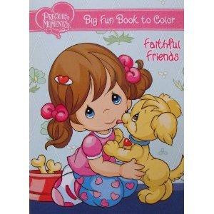 Precious Moments Big Fun Book to Color ~ Faithful Friends