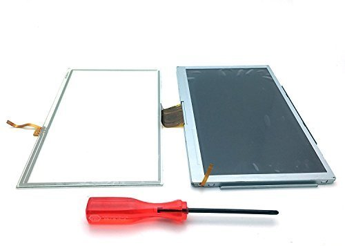 Genuine OEM Screen LCD Touchscreen Display Replacement Repair Part with Digitizer and Tool for Nintendo Wii U by HongLei