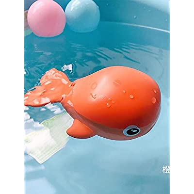 Taimot Baby Bath Toy Wind Up Bath Bathtub Toys Cute Little Dolphins Eco-Friendly Material Floating Toys for Toddlers Infants Reasonable : Baby