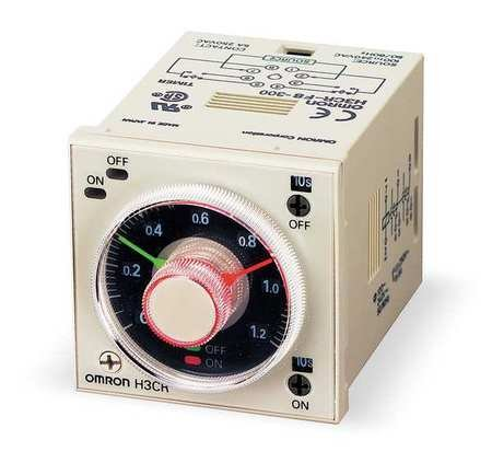 Time Delay Relay, 120VAC, 5A, DPDT, Socket (Repeat Time Relay Cycle Delay)