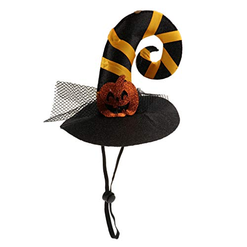 Flameer Pet Dog Cat Witch Hat Costumes for Holiday Parties Halloween, Christmas Easter Celebrations, Photo Shoot #5]()