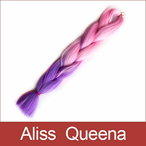 aliss queenatmfolded length 24inch extra long ombre