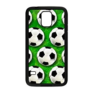 wugdiy DIY Protective Snap-on Hard Back Case Cover for SamSung Galaxy S5 I9600 with Soccer