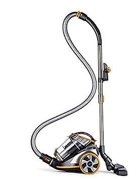 PUPPYOO 9005B Aspirador sin Bolsa Fuerte Succión Diseño Plegable del Codo Reducción de Ruido Múltiple Aspirador