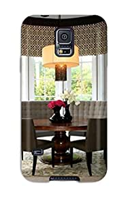 MMZ DIY PHONE CASEFor Galaxy S5 Protector Case Eat-in Kitchen8217s Stylish Banquette Phone Cover