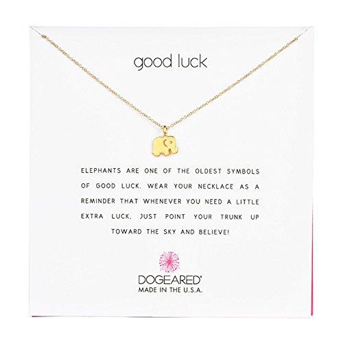 """Dogeared Reminder """"Good Luck"""""""