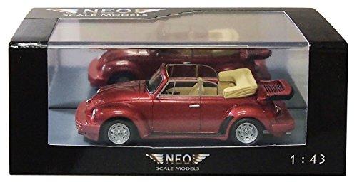 1/43 VW ビートル Schult(メタリックレッド) NEO46140