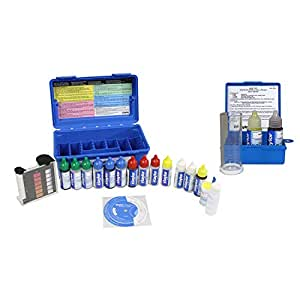 Taylor complete swimming pool spa test kit sodium chloride salt water test for Sodium tetraborate pentahydrate swimming pools