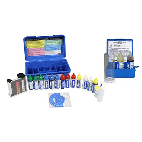 - Taylor Complete Swimming Pool/Spa Test Kit + Sodium Chloride Salt Water Test