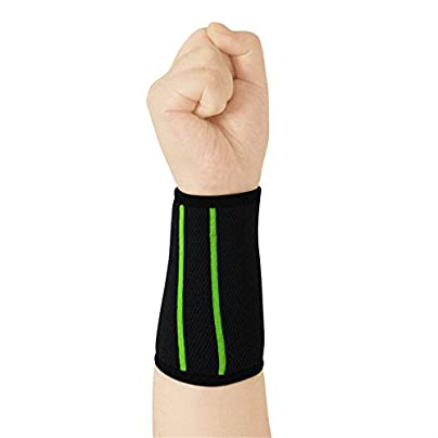 Sports Wristband Woven Color Breathable Running Protector for Adults Arthritis and Carpal Tunnel Estimated Price £11.04 -